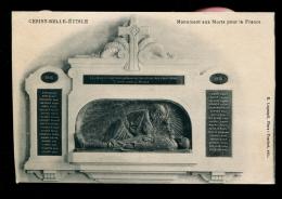 61 - Cerisy-Belle-Etoile : Monument Aux Morts Pour La France - France