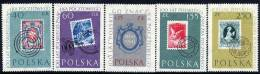 POLAND 1960 Stamp Centenary Set MNH / **.  Michel 1151-55 - 1944-.... Republic