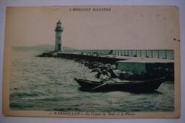 34  -  7  MARSEILLAN  -  LE CANAL DU MIDI ET LE PHARE - France