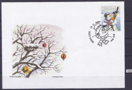 SLOVENIA 2006; FDC; Mi: 601; New Year, Snowman - Nouvel An