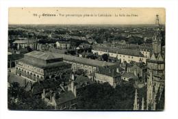 Orléans (45) : Vue Panoramique Prise De La Cathédrale - La Salle Des Fêtes - Orleans