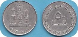 *EMIRATS ARABES UNIS*50 FILS*ANNEE 1973-1989* LOT N° 8582 - Emirats Arabes Unis