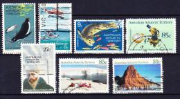 AAT Australian Antarctic Territory YT N° 25, 26, 27, 53, 62, 65 Et 67 Obl. - Australian Antarctic Territory (AAT)