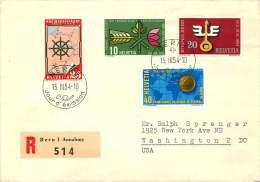 1954  Timbres De Propagande  Zum 316-9   /  Oblitération Française - FDC