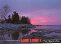 Postcard - Cana Island Lighthouse, Wisconsin, USA. DC-104 - Phares