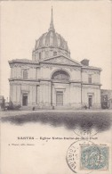 Cp , 44 , NANTES , Église Notre-Dame-de-Bon-Port - Nantes