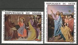 NIGER  PA  N� 76/77 NEUF** LUXE