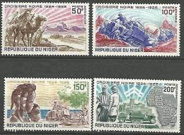 NIGER  PA  N� 115/118 NEUF** LUXE