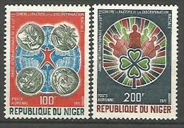 NIGER  PA  N� 151/152 NEUF** LUXE