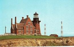 Postcard - Block Island Southeast Lighthouse, Rhode Island, USA. D-89282-C - Faros