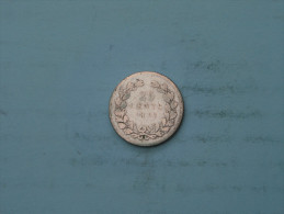 1897 - 25 Cent - KM 115 ( Uncleaned - Details Zie Foto´s ) ! - 25 Cent