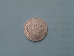 1895 - 1 Corona - KM 2804 ( Uncleaned - Details Zie Foto´s ) ! - Autriche