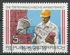 ÖSTERREICH 1989 MI-NR. 1973 O Used - ABO-Ware - (84) - 1981-90 Gebraucht