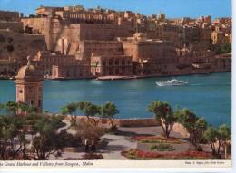 Malte.. La Vallette.. Valletta.. Animée.. Le Port.. Bateau.. - Malta