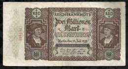 ALLEMAGNE .  BILLET DE 2 MILLION EN MARK . 1923 . - 2 Millionen Mark