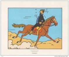 Tiré à Part HERGE Et Tintin Kuifje : Capitaine Haddock Dans Coke En Stock - Hergé