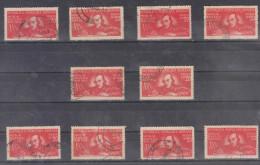 1948 - L Ecrivain Ncolas Balcescu Mi No 1169 Et Yv No 1070 LOT X 10 - 1948-.... Repubbliche