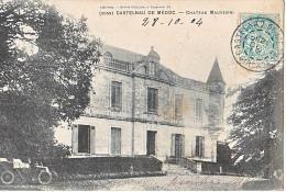 24031- 4cpa -Vins Bordeaux 33 France Vin - Castelnau De Medoc -chateau Mauvesin Mauvezin