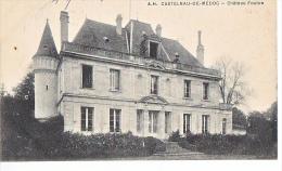 24035 -2cpa -Vins Bordeaux 33 France Vin - Castelnau De Medoc -chateau Foulon - éd :AH & 6 PP