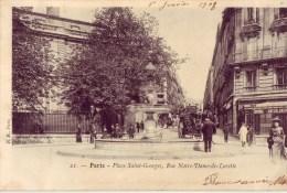75 21 PARIS Place Saint Georges Rue Notre Dame De Lorette - France