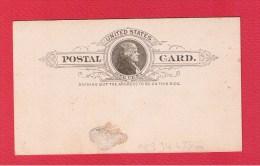 USA  ///  Entier Postal  //   1  Cent   //  Vierge   // - 1901-20