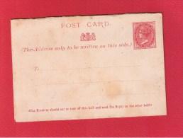 New South Wales     //  Entier Postal  //   1 Penny  //   Vierge  //  Avec Coupon Réponse - Grande-Bretagne (ex-colonies & Protectorats)