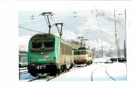 01 - AMBERIEU - Train Locomotive - BB 36055 //   7369 - Le 26 Janvier 2007 - Sncf - - France
