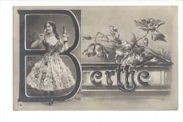 10470 -  Berthe Jeune Fille - Prénoms