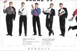 Dépliant De La Gamme Renault 1995 - Publicités