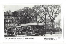 10471 -  Old Brighton Trams At Grand Parade - Brighton