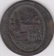 France Lot X9 - Monnaie De Confiance Monneron 5 Sols 1792 - 1789-1795 Period: Revolution