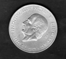 MEXICO DIEZ 10 PESOS 1956 HIDALGO  ESTADOS UNIDOS MEXICANOS   SILVER COIN - Mexico