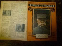 1918 LPDF: Procès Bolo; Les Greniers De L'UKRAINE ; Nieuport; Les GOTHAS à CALAIS; Le Théâtre Et La Guerre - Revues & Journaux