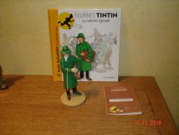 EDITION MOULINSART   BAZIL BAZAROFF LE MARCHAND DE CANONS DANS TINTIN ET L'OREILLE CASSEE - Tintin