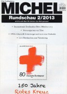 MICHEL Briefmarken Rundschau 3/2013 Neu 5€ New Stamp Of The World Catalogue And Magacine Of Germany ISBN 4 194371 105009 - Hobbies & Collections