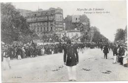 PASSAGE A MARLY LE ROI -MARCHE DE L'ARMEE - Marly Le Roi