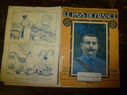 1918 LPDF: Léonard De Vinci Et Guerre; Attentat Clémenceau;Ravitailler BELGIQUE Par Avion;Dirigeable Géant; Echouage UK - Revistas & Periódicos