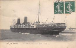 """¤¤  -  52  -  Le Transatlantique """" LA LORRAINE """"   -  Bateau   -  ¤¤ - Pétroliers"""