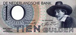 Netherland 10 Gulden,02.02.1944,serial No.4 BS 012106,P.59,see Scan - 10 Gulden