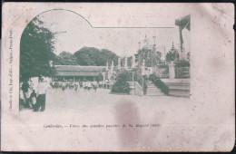 Kambodscha - Cambodge - Fetes Des Grandes Pagodes De Sa Majeste 1903 - Kambodscha