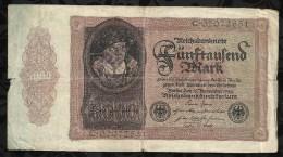 ALLEMAGNE .   BILLET DE 5.000  MARK .1922  . - 5000 Mark