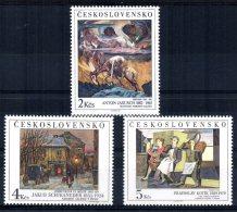 Czechoslovakia - 1989 - Art (24th Series) - MNH - Tchécoslovaquie