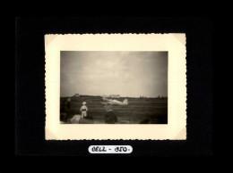 56 - BELZ - Petite Photo - Fête Aviation - 1950 - Lieux
