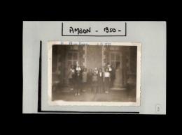 56 - AMBON - Petite Photo - Colonie De Vacances - 1950 - Lieux