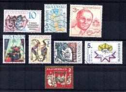Slovakia - 1995 - 1 Set & 6 Single Stamp Issues - Used - Slovaquie