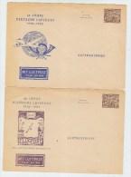 Germany 40 JAHRE DEUTSCHE LUFTPOST 2 COVERS 1952 - [5] Berlin