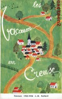 LES VACANCES EN CREUSE CONCOURS DE DESSIN J.M. PAILLARD 1935-36 ART NAÏF VALETTE GERMAINE 15 ANS - Non Classés