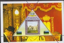 Fantasy Label Synagogue Synagogues Sinagoga Synagoge NEW 12 Blocks - Mosquées & Synagogues