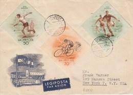 CYCLISME-RADSPORT-CICLISM O-CYCLING, HUNGARY, 1953, Special Postmark !! - Cycling