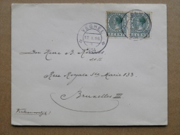 Cover Sent From Netherlands Veghel 2 Scans - Periode 1891-1948 (Wilhelmina)